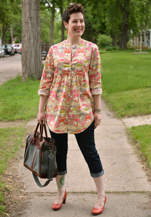 short Kurti with jeans - bewakoof blog