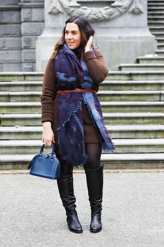 scarf with belt - bewakoof blog