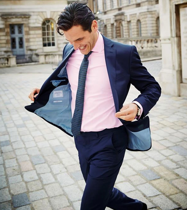 pink shirt and purple tie - bewakoof blog