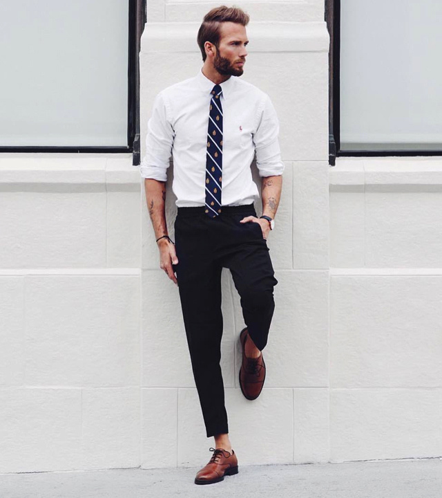shirt and tie outfit - bewakoof blog