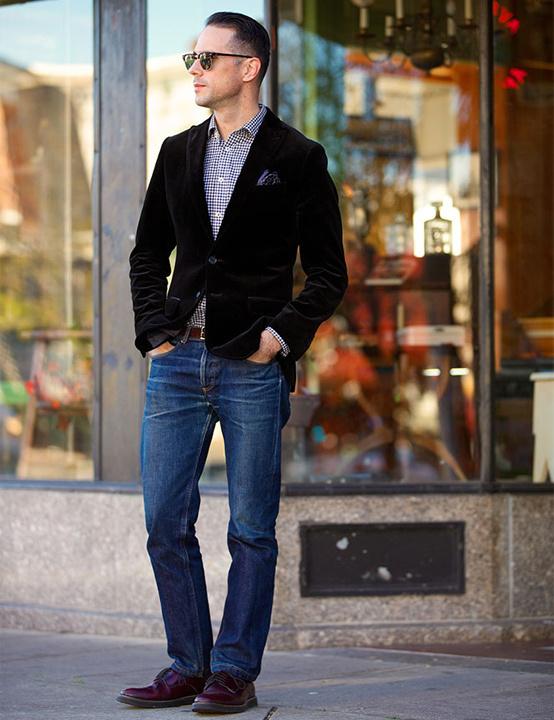 Blazer with jeans - Bewakoof blog