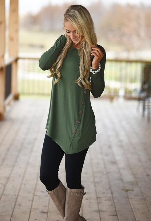 short dress with leggings - bewakoof blog