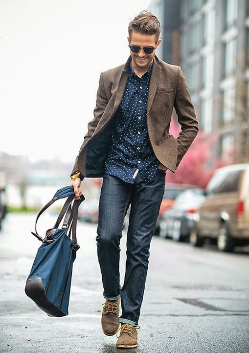 brown blazer - Bewakoof Blog
