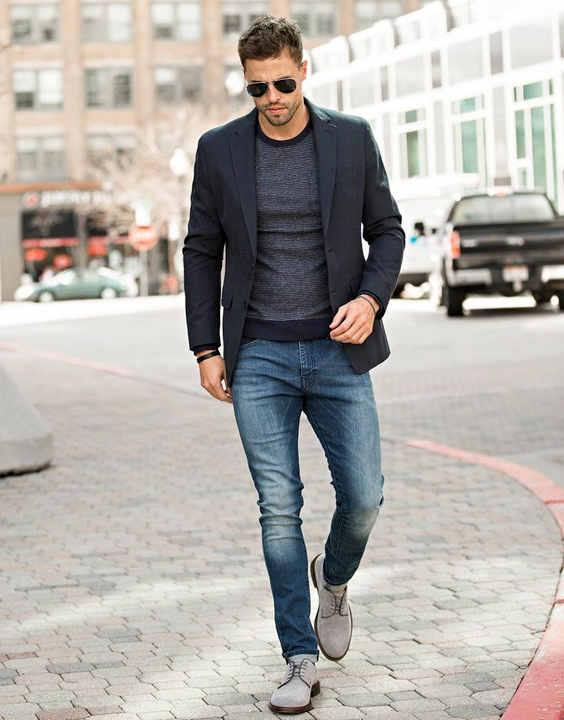 Black Blazer With Jeans - Bewakoof Blog