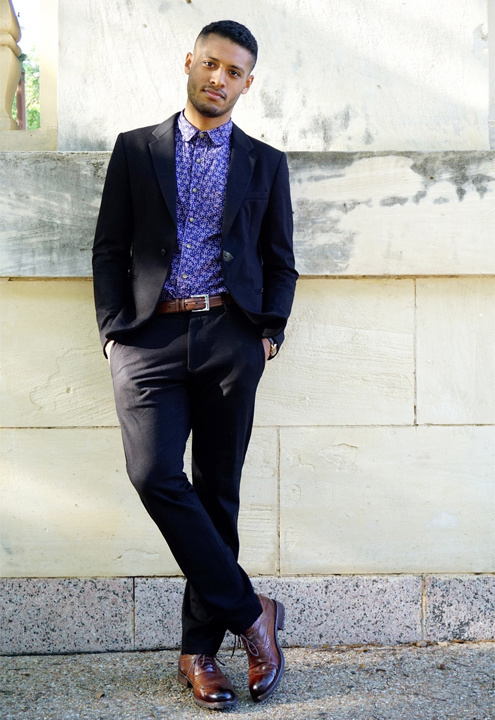 Black Blazer With Blue Shirt - Bewakoof Blog