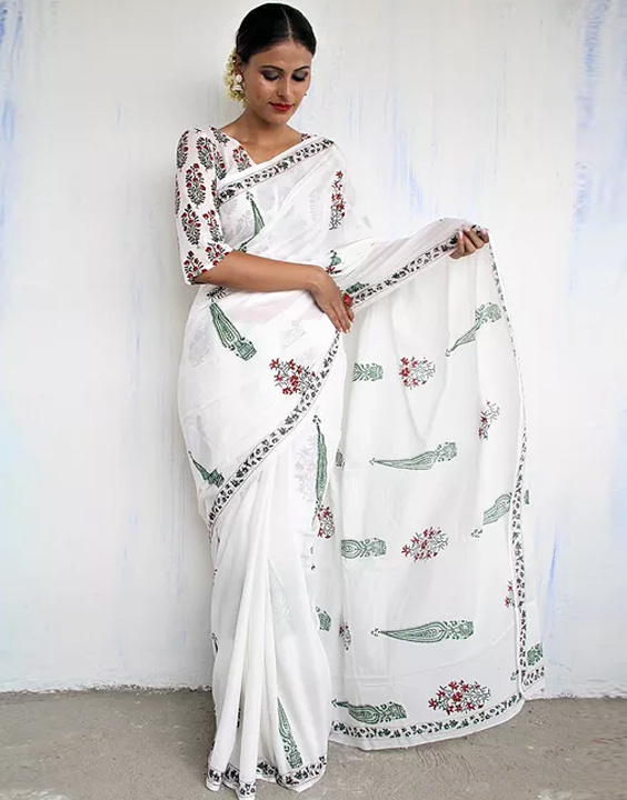 How To Drape A Saree To Look Slim - Bewakoof Blog