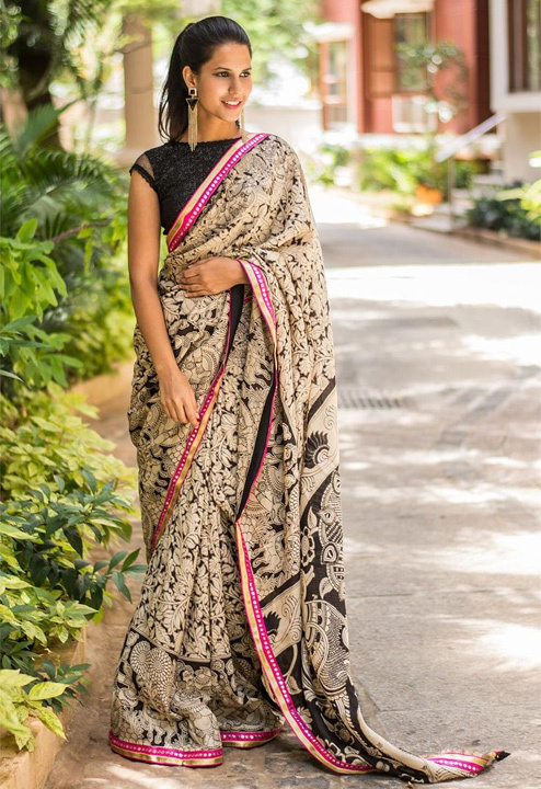 Saree Draping Tips to Look Slim - Bewakoof Blog