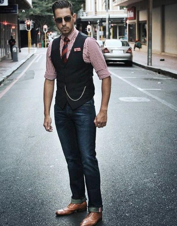 Styling Black Waistcoat With Jeans - Bewakoof Blog