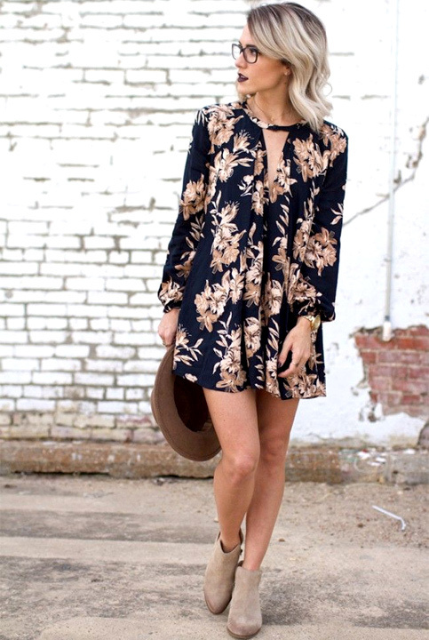 Black Floral Dress Outfit Ideas for Women - Bewakoof Blog