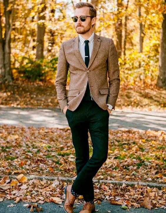 Black Jeans Combination with brown blazer - Bewakoof Blog
