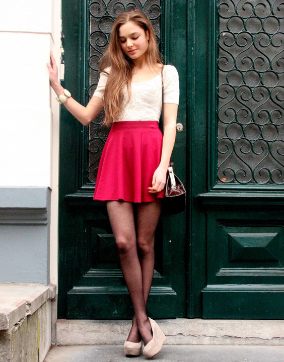 70bfcc4cc Skater Skirt Outfits Styles Ideas for Women | Bewakoof Blog