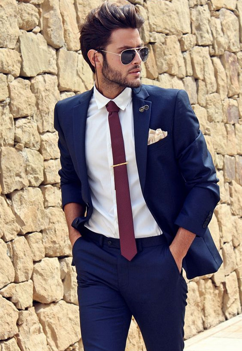Blue Suit Combinations , 8 Ways to wear a Blue Suits