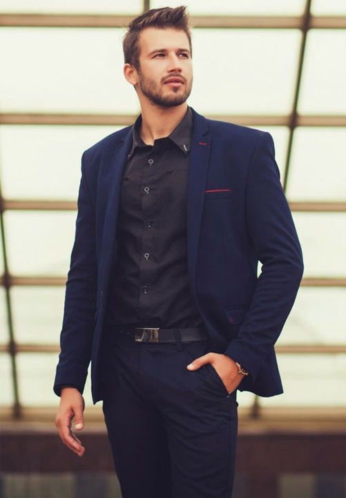 fbb6c442f9c5 Blue Suit Combinations - 8 Ways to wear a Blue Suits | Bewakoof Blog
