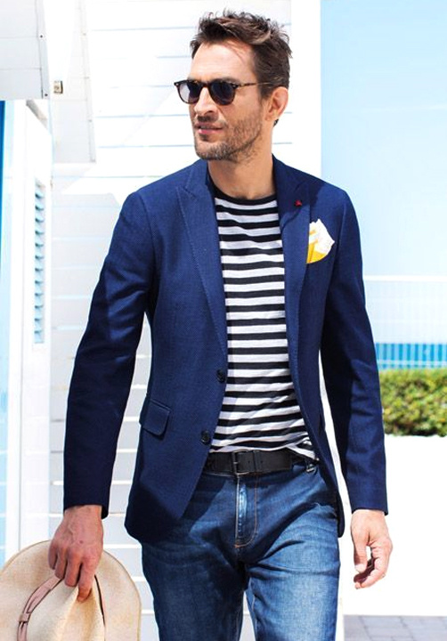 Blue blazer combination with jeans - Bewakoof Blog