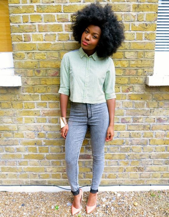 Cropped Shirt with High Waisted Jeans - Bewakoof Blog