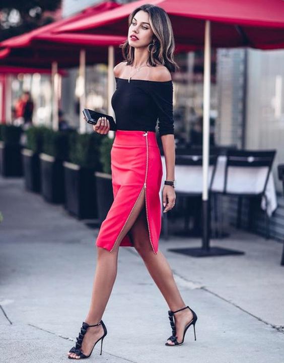 Pencil skirt and crop top combination - Bewakoof Blog