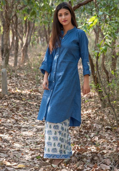 Pakistani long Kurtis with Palazzo pants - Bewakoof Blog