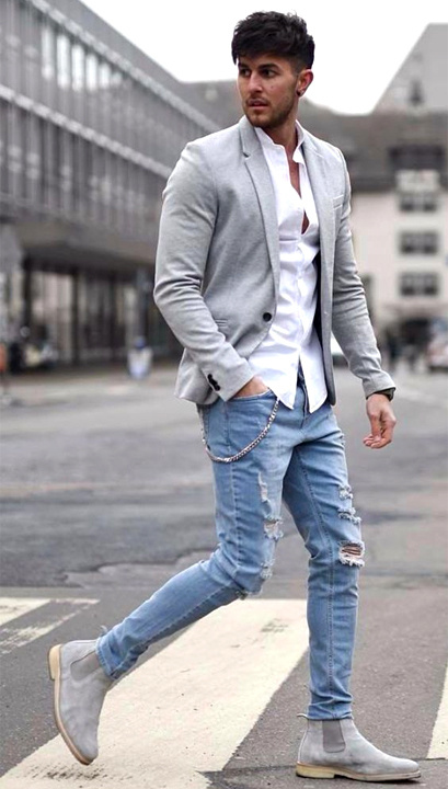 White Shirt Blue Jeans Style Guide For Men Women
