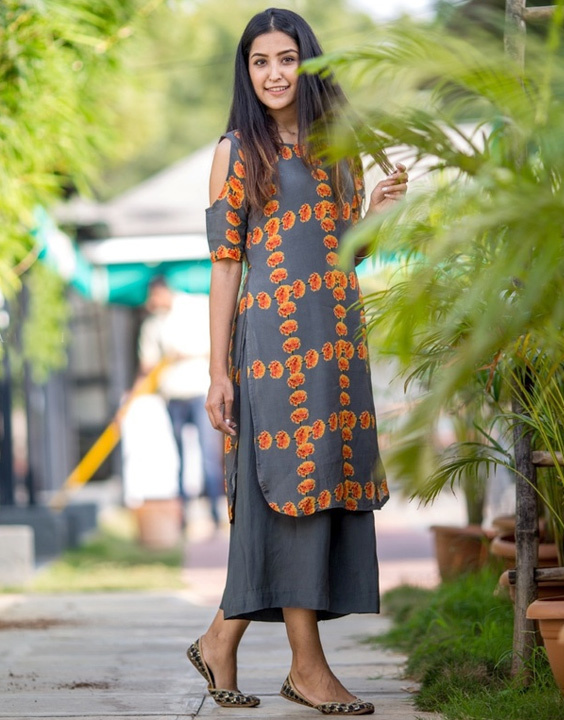 Culottes - Types of Salwar Pants | Bewakoof Blog