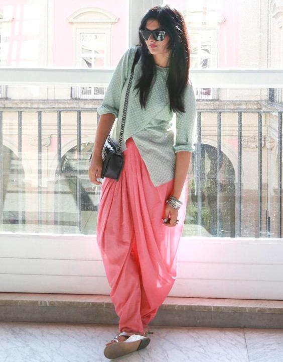 Dhoti salwar - Types of Salwar Pants | Bewakoof Blog