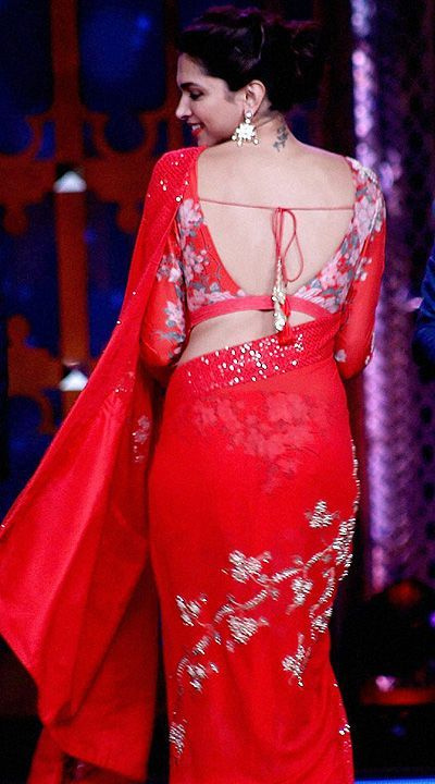 Deepika Padu Backless