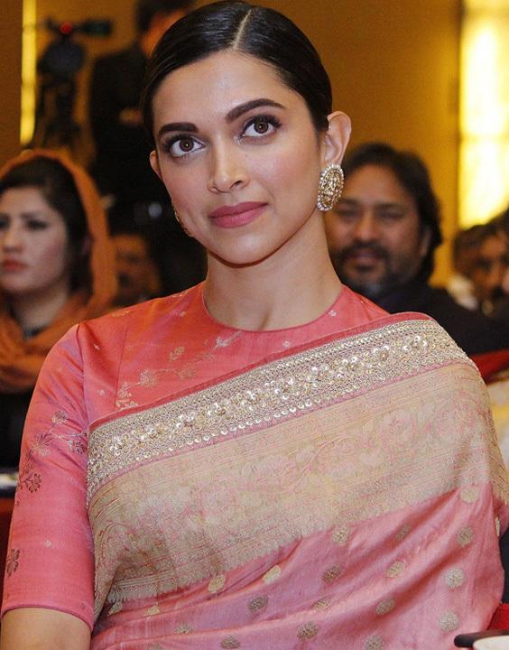 Deepika Padukone Round neck Blouse