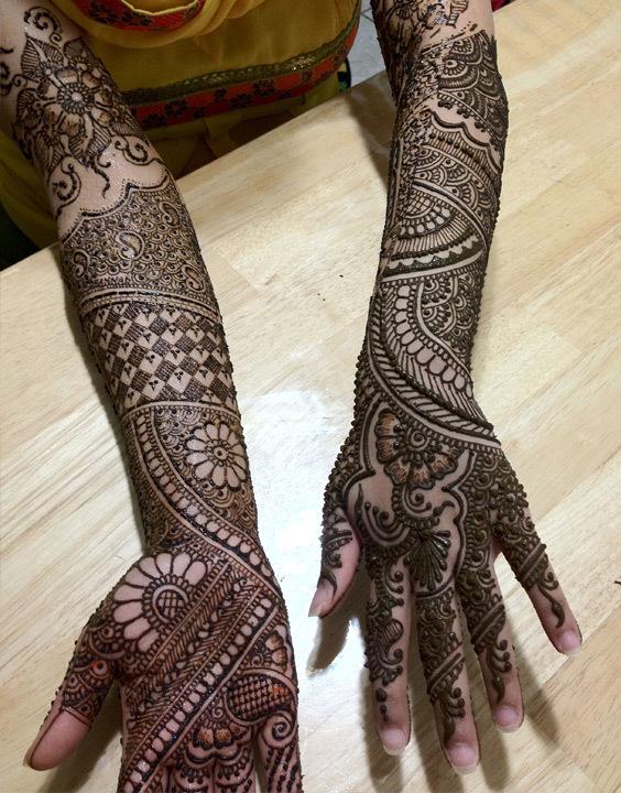 Full Hand mehndi design - Bewakoof Blog