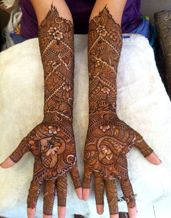 Dulhan Full hand Mehndi - Bewakoof Blog