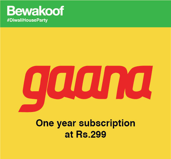 Bewakoof & Gaana offer