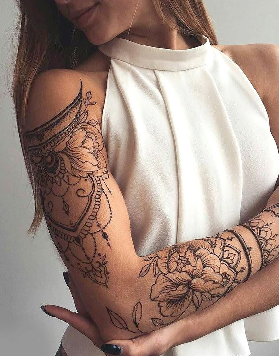 Arm tattoo women bewakoof blog