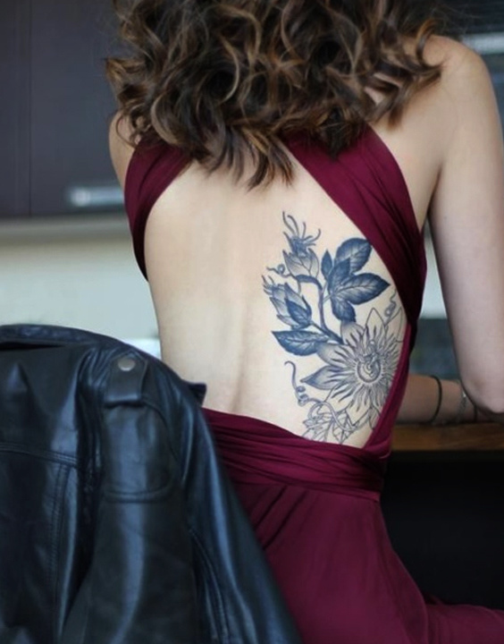 Back tattoo women bewakoof blog