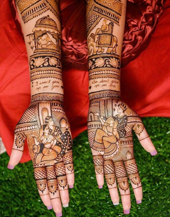 Types Of Mehndi Design From Different Origin The Various Types Of