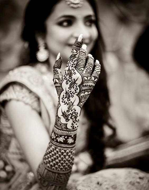 Indian mehndi design -  Bewakoof blog