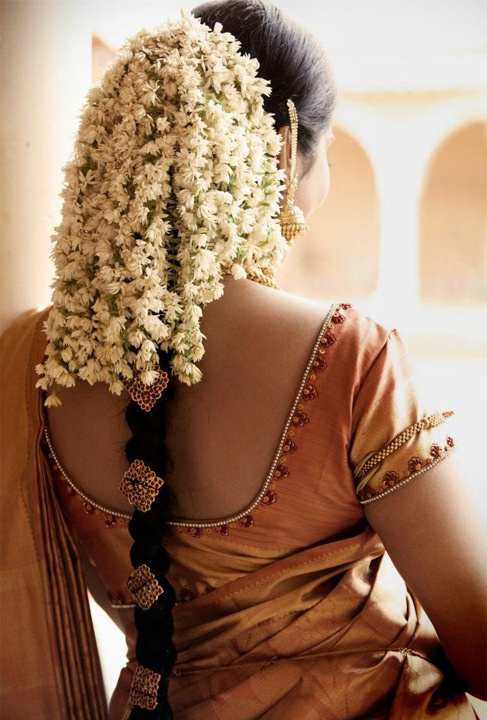 South Indian bridal hairstyle Bewakoof Blog