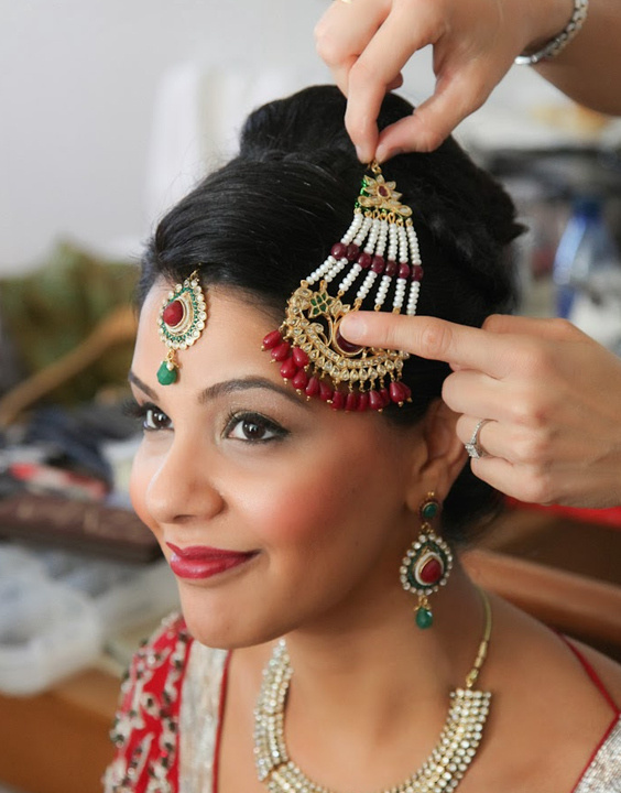 Punjabi bridal hairstyle Bewakoof Blog