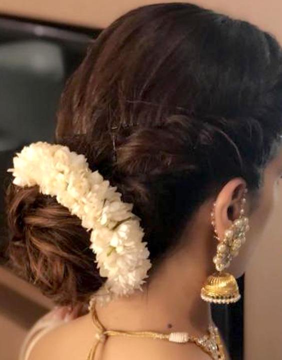 Bridal hairstyle Bewakoof blog