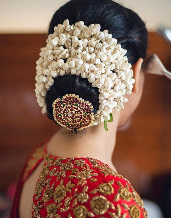 Indian Bridal hairstyle bewakoof blog