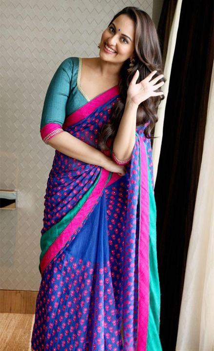Sonakshi sinha saree Bewakoof blog