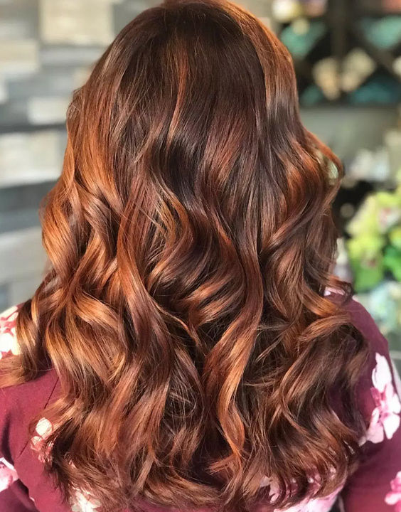 Copper Highlights On Brown Hair bewakoof blog