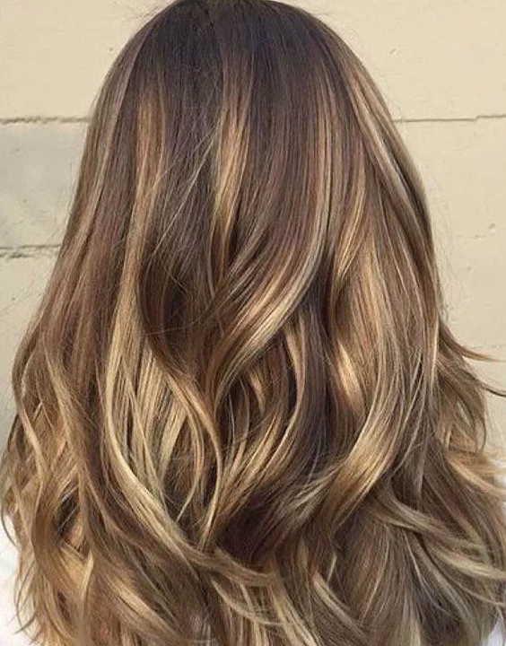Golden Highlights On Dark Hair bewakoof blog