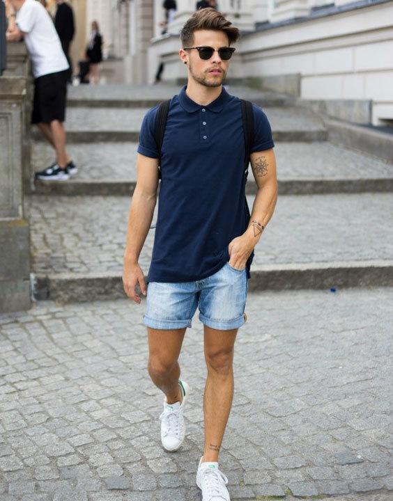 Denim shorts Bewakoof Blog