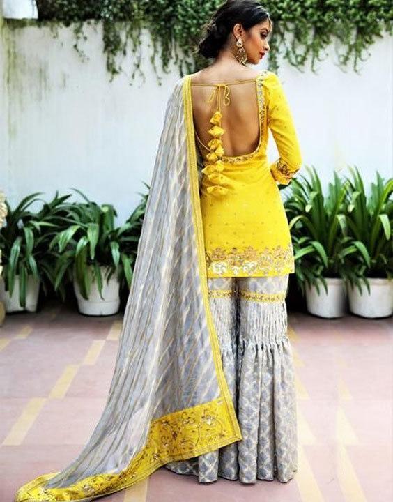 Sharara with Backless kurta Bewakoof Blog