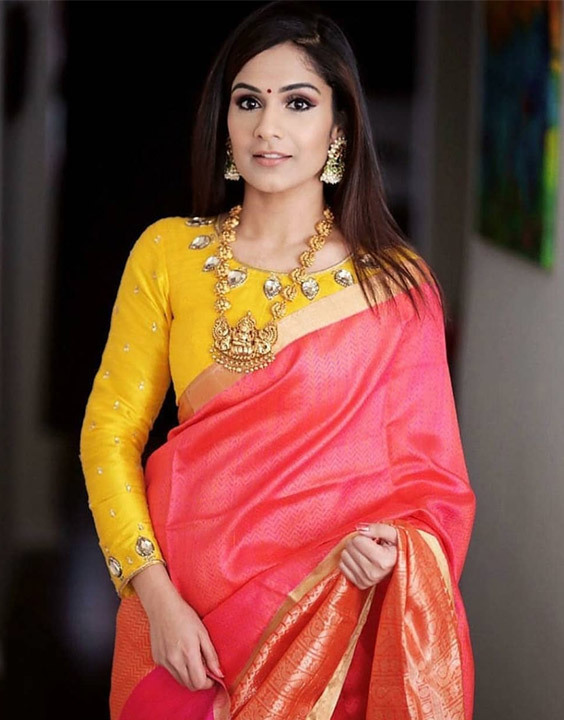 Yellow Saree Blouse - Bewakoof Blog
