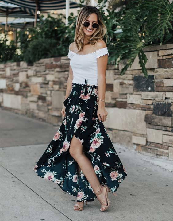 Maxi Skirt Bewakoof Blog