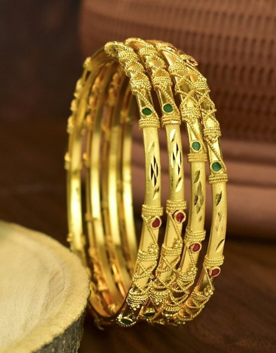 Gold Plated bangles Bewakoof Blog