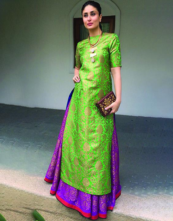 Brocade Kurti With Skirt - Bewakoof Blog