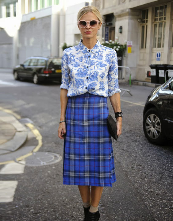 Plaid Skirt - Bewakoof Blog