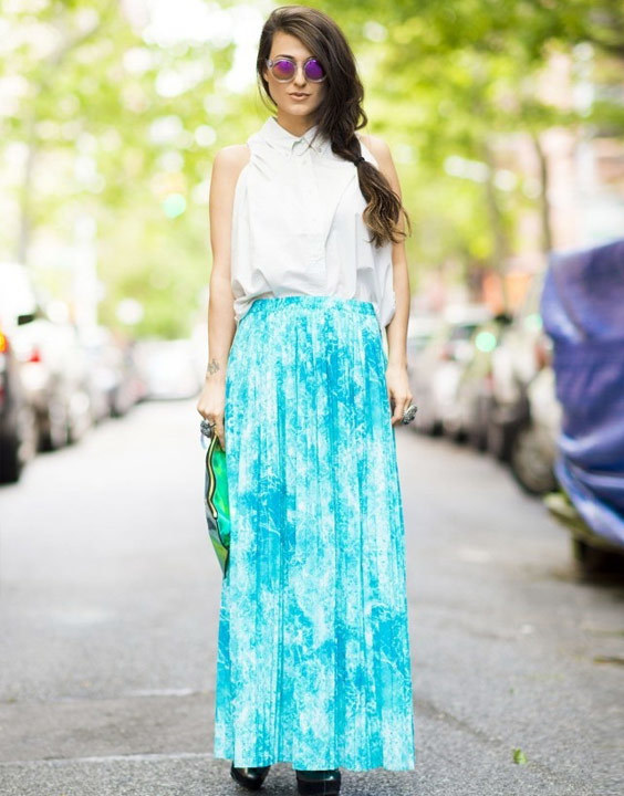 Tie Dye Long Skirt - Bewakoof Blog