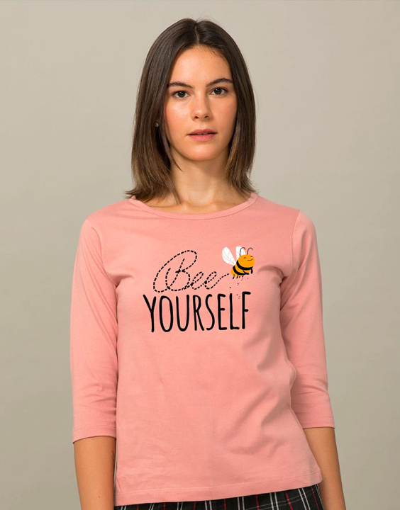 Women's Day - 3/4th Sleeve T-Shirts for Women