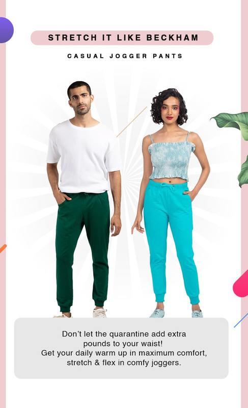Buy Joggers for Men & Women Online India at Bewakoof.com
